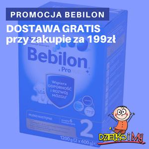 Promocja Bebilon 1200 - nowe opakowanie